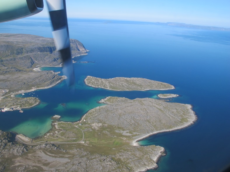 Getting closer and closer to Honningsvåg, Norway
