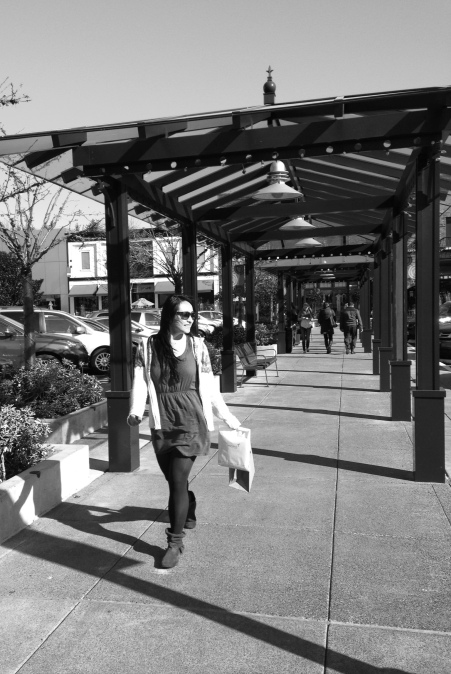 Strolling in the early-Spring sun yesterday afternoon :) As much as I absolutely love travelling, it sure is also nice to be back home in the Pacific Northwest.